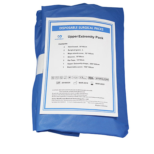 Disposable Upper Extremity Surgical Pack