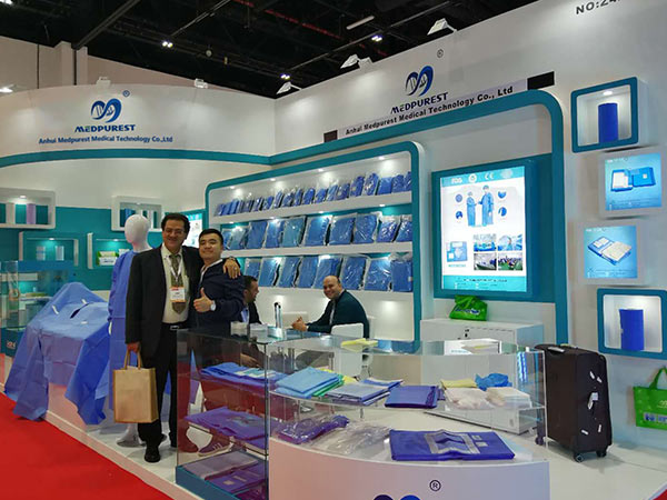 MedPurest attend Exhibition at Arab Health in Dubai