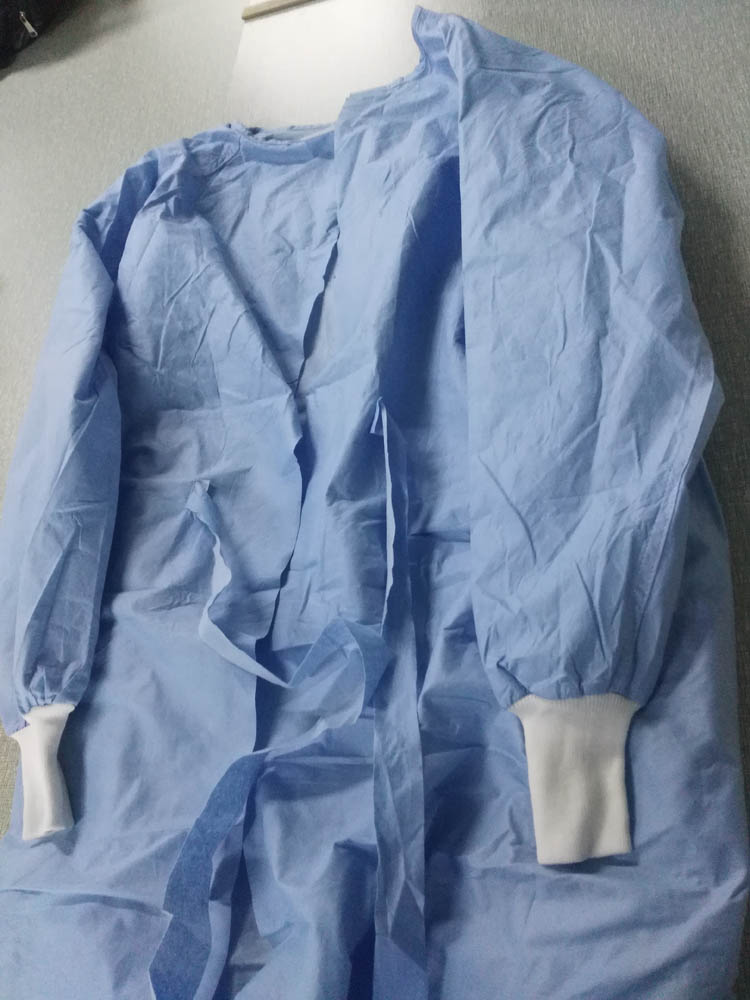 How difficult the surgical gowns get into the hospitals in China