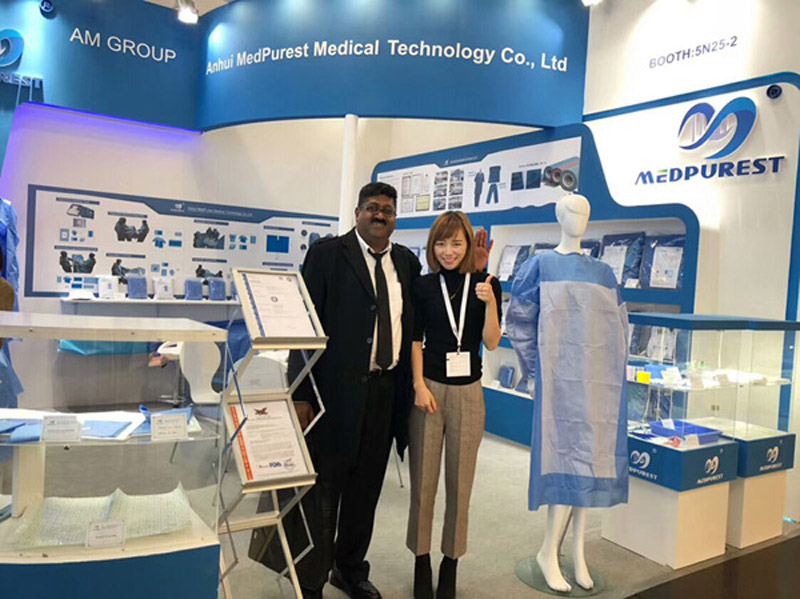 MedPurest attend 2018 Düsseldorf International Medical Devices and Equipment Exhibition Held in Germany