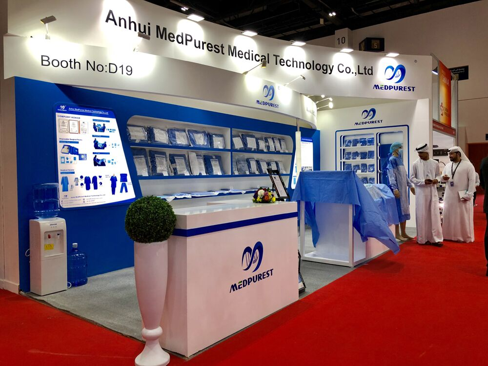 Medpurest attends the 44th Arab dubai international medical device exhibition