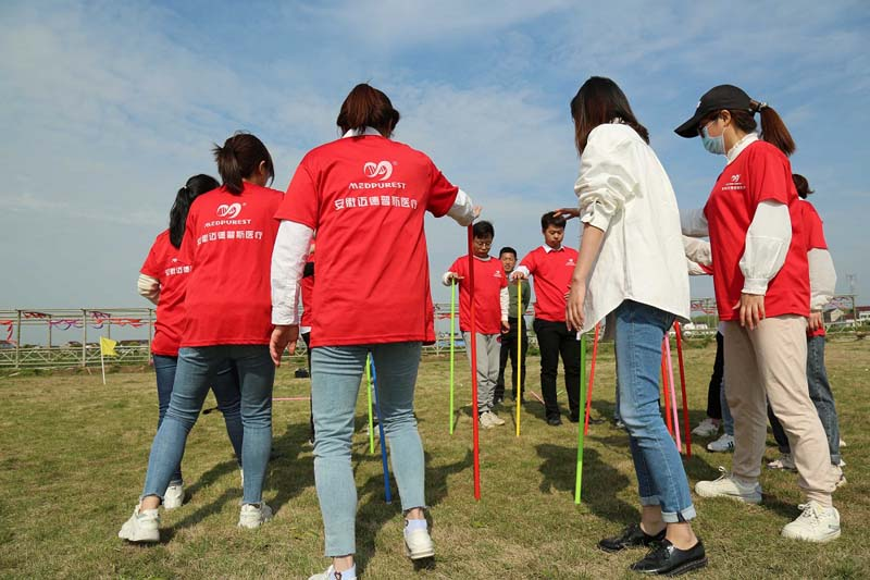 The Team Building Activity of Medpurest Employees Was Successfully Held