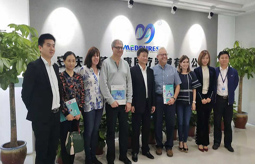 The Mayor Of California, USA(City Of Calabasas)Fred Geensi And His Delegation Visited Medpurest