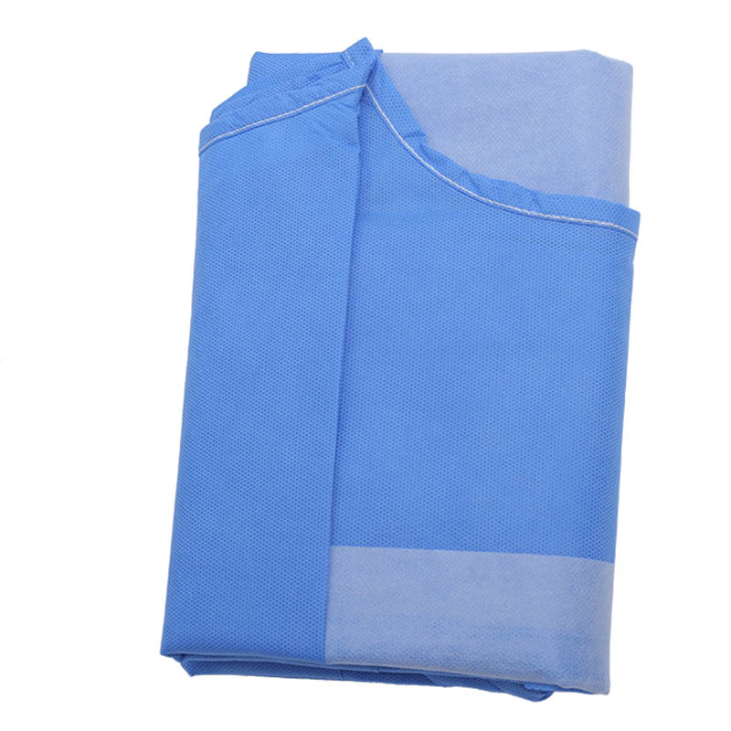 Fabric-Reinforced Surgical Gown