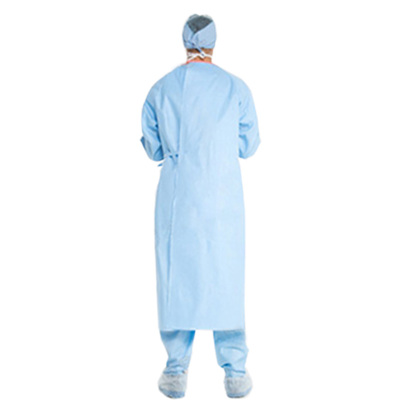 Poly-Reinforced Surgical Gown