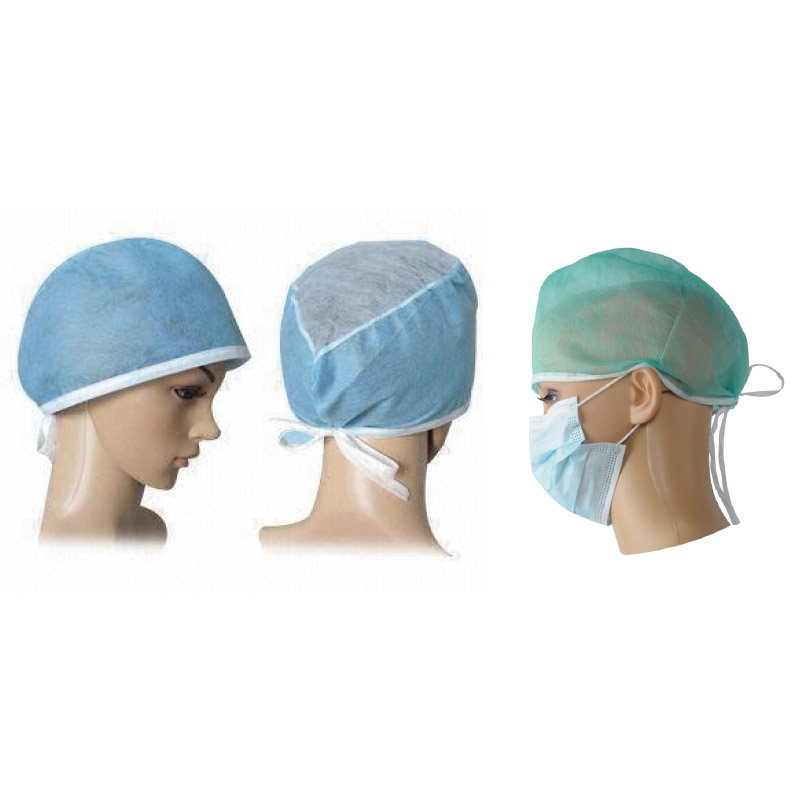 Disposable non-woven doctor hat