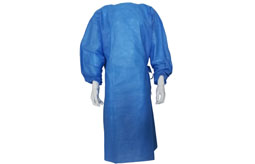 The difference between  full-surgery Gown and  half-surgery Gown