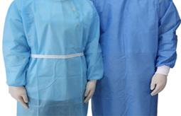 Production requirements for disposable surgical gown