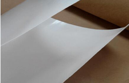 Laminating paper production process and use