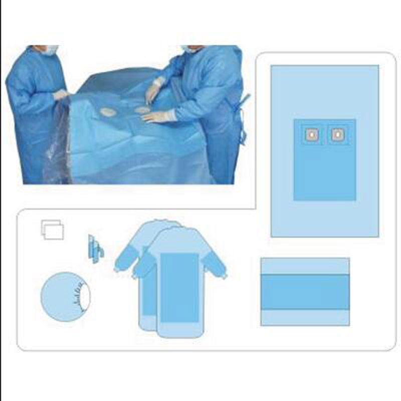 Disposable Angiography Surgical Pack
