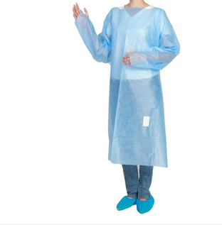 Disposable Reverse Wear Isolation Clothing(PP + PE )