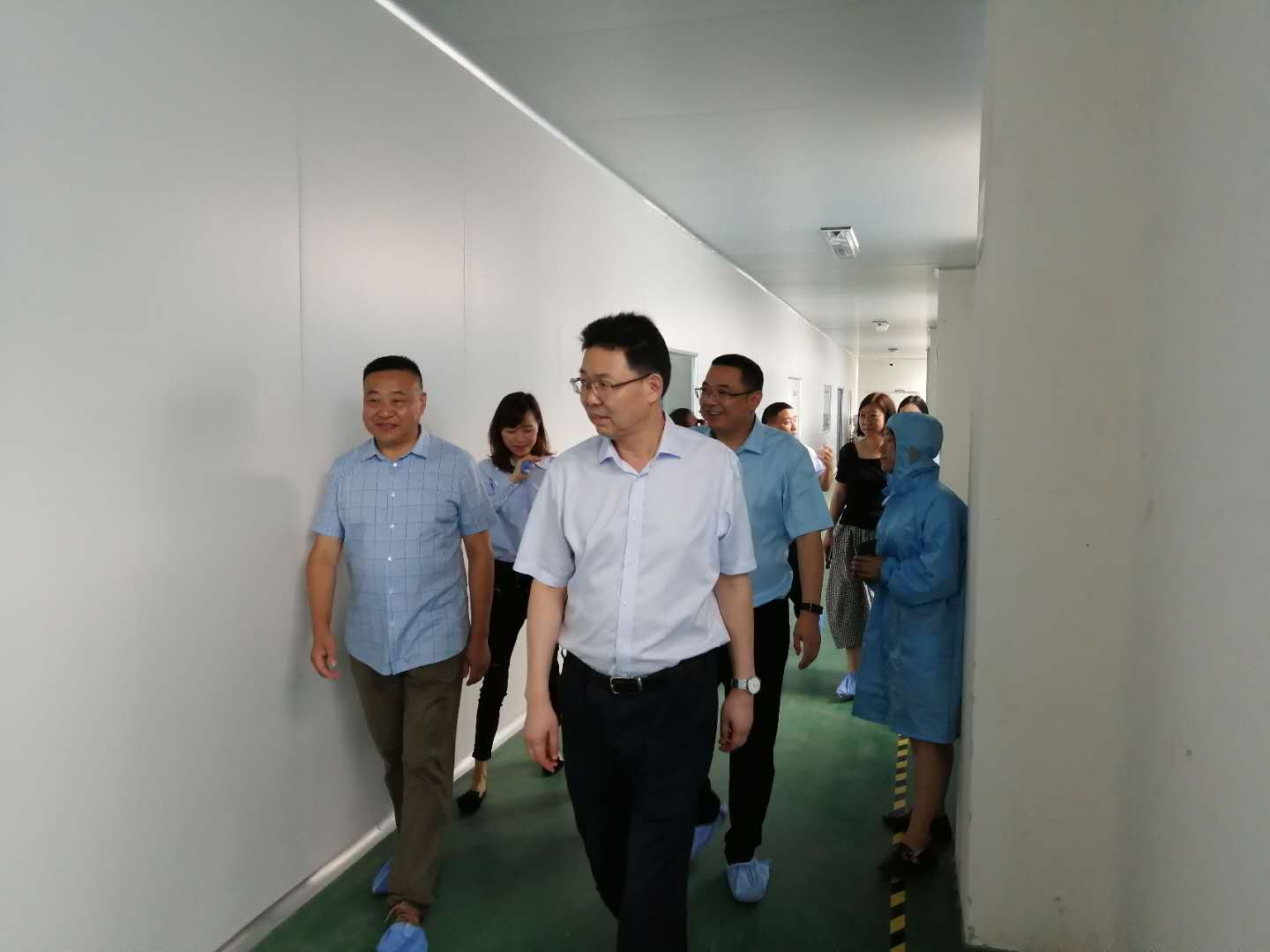 Welcome Deputy Mayor Yang Lin of AnQing City to Visit MedPurest to Guide The Work