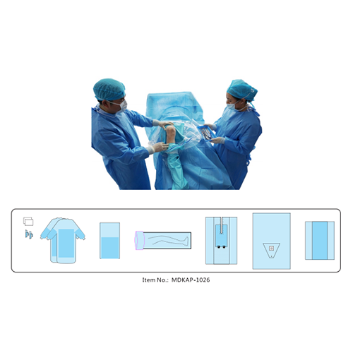 Disposable Knee Arthroscopy Surgical Pack